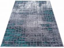 Dywan Madrid 1408 gray (dywan szary) turquoise